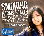 Smoking harms health from the very first puff. Learn more