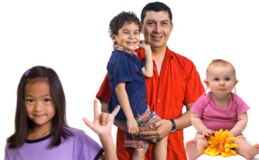families, children with hearing loss