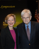 Dr. Elizabeth G. Nabel joined Dr. Marshall Nirenberg to celebrate the naming of a National Historic Chemical Landmark at the NIH, November 12, 2009.