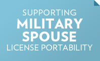 Supporting Military Spouse License Portability