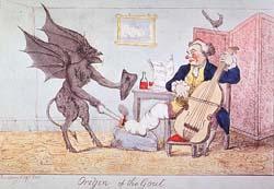 """Origin of the Gout"" illustration"