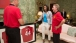 Mrs. Obama Receives A Gift From Former Soccer Players