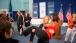 Mrs. Obama Is Lifted By US Wrestler Elena Pirozhkov