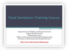 Online Food Handler Training Project