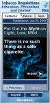 Center for Tobacco Products Widget