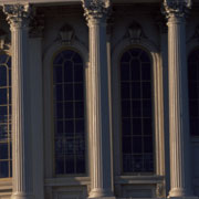 Capitol dome columns