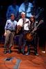 NIH Director Francis Collins performing with Aerosmith's Joe Perry and NIH grantee Rudy Tanzi