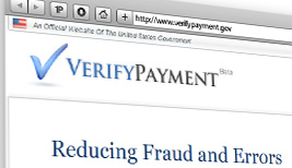 VerifyPayments.gov website