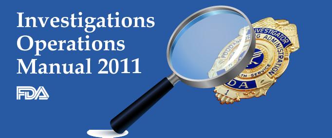 Investigations Operations Manual 2011