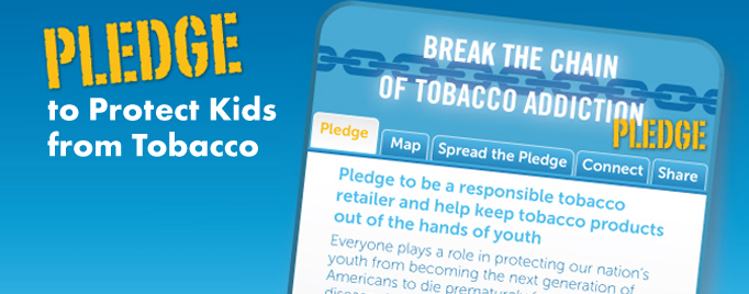Pledge to Protect Kids from Tobacco