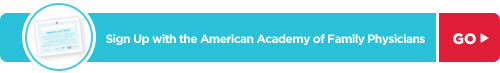 Sign Up with the American Academy of Family Physicians