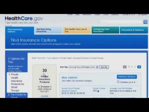 Small businesses can now use new tools to search and compare their health insurance plan choices online