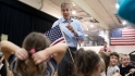 Education Secretary Arne Duncan talks to students