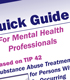 New Quick Guide on TIP 42