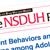Violent Behaviors & Teens:  Academics & Family Income Key Factors