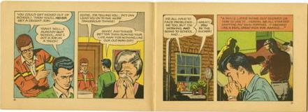Hooked!, an anti-drug comic book presenting marijuana as a gateway to heroin, social ruin, and death, 1967