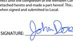 Signing PDF documents