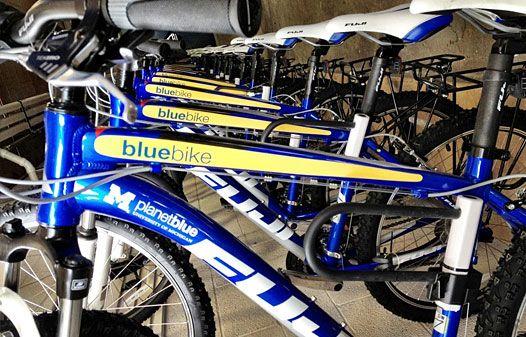 Go Blue Bikes!