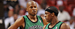 Rajon Rondo opens up about his relationship with former teammate Ray Allen. (US Presswire)