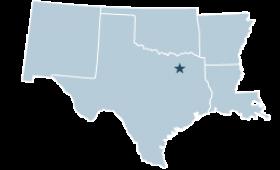 Region 6 covering Arkansas, Louisiana, New Mexico, Oklahoma, Texas