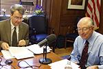 BLM Director Bob Abbey and Secretary of the Interior Ken Salazar (photo by Ron Tull-DOI)