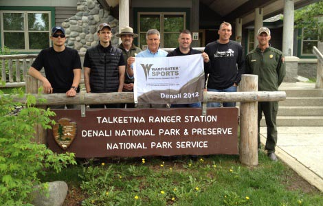 Five wounded warriors challenge their disabilities to take on the tallest peak in North America.