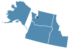 Region 10 covering Alaska, Idaho, Oregon, Washington