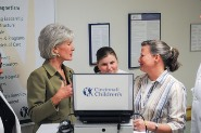 Accelerating the Process of Scientific Discovery to Improve Patient Care: HHS Secretary Sebelius visits the Cincinnati Children's Hospital and meets with staff Doctors and Nurses.