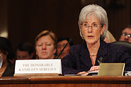 HHS Secretary Sebelius testifies before the U.S. Senate. Credit: Photo by Chris Smith – HHS Photographer.