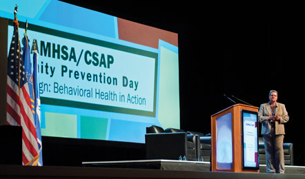 photo of SAMHSA Administrator Pamela S. Hyde at Community Prevention Day