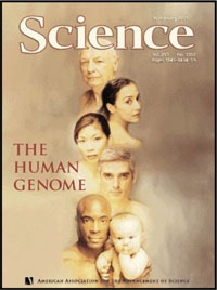 Science cover: The Human Genome