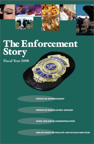 Image of 2008 Enforcement Story Cover