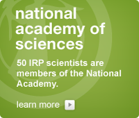 National Academy of Sciences: 50 IRP scientists are members of the Academy.