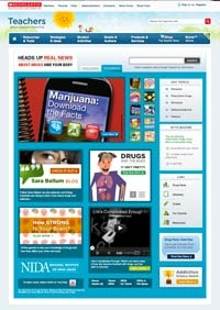Heads Up Web Site at Scholastic