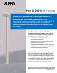 Plan EJ 2014 At a Glance Report Cover