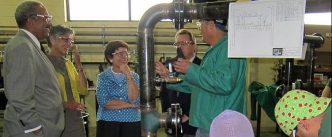 Acting Secretary Blank Applauds Steamfitters' Job Training as Key to Building a 21st Century Economy