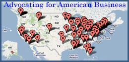 Secretary of Commerce's travel advocating American business