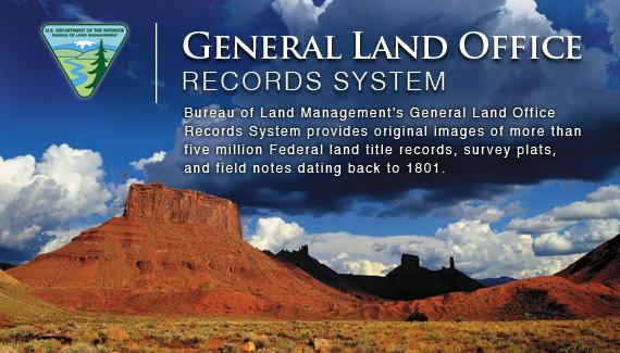 General Land Office Records System