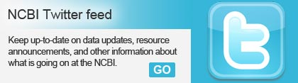 NCBI Twitter feed