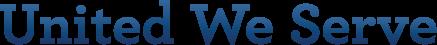 United We Serve Logo