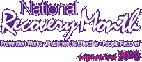National Alcohol & Drug Addiction Recovery Month 2012