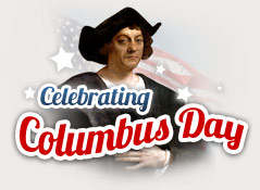 Monday, October 8 is Columbus Day.