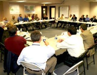 A Citizen Corps Council meeting
