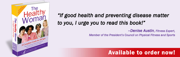If good health and preventing disease matter to you, I urge you to read this book! –Denise Austin, Fitness Expert, Member of the President's Council on Physical Fitness and Sports.  Available to order now!