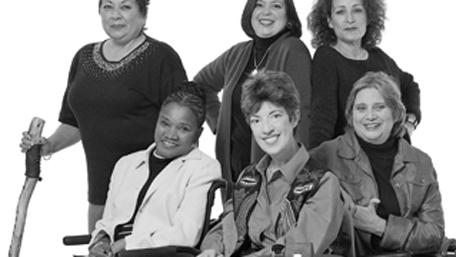 Grupo de mujeres discapacitadas