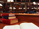 Photo of a library.