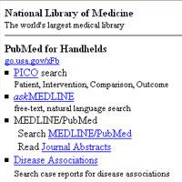 Pubmed® for Handhelds