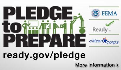Pledge to Prepare for National Preparedness Month. Learn More.