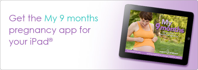 Get the My 9 months pregnancy app for your iPad