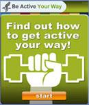 healthfinder.gov ? Be Active Your Way Widget